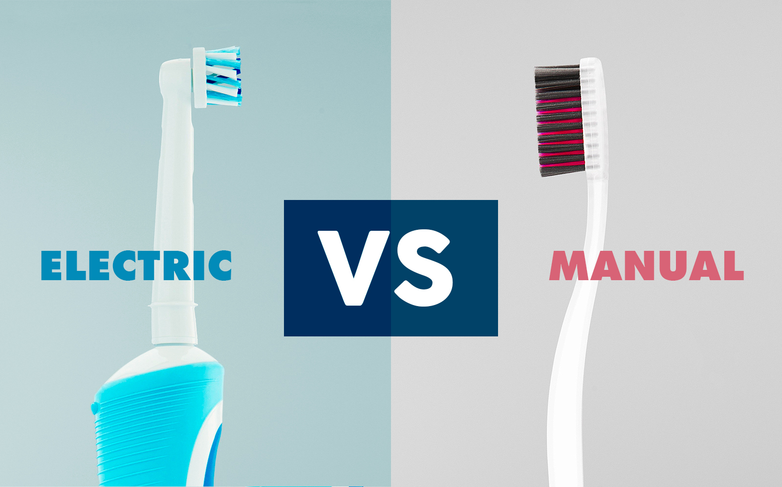 Electric Toothbrush vs Manual Brush blog header image Lynnfield Dental Associates